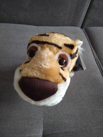 Maskotka big hedaz z wielkimi oczami nowa zebra tygrys