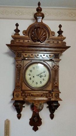 Настенные часы с боем 1957г. в новом корпусе № 1.