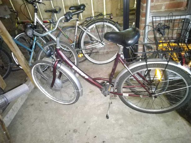 Rower miejski damka na 26 calkwych kolach