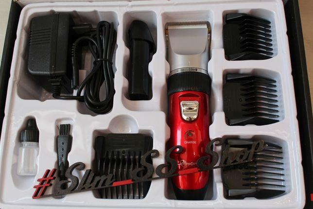 2 Аккумулятора! Машинка для стрижки волос Gemei триммер тример головы