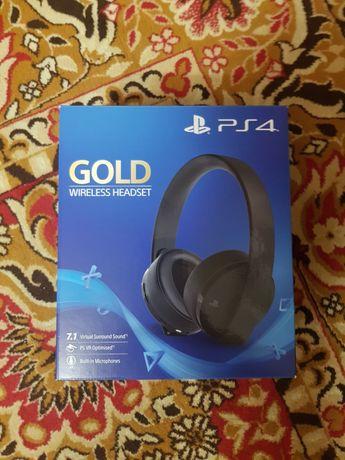 Słuchawki PS4, bezprzewodowe, nowe