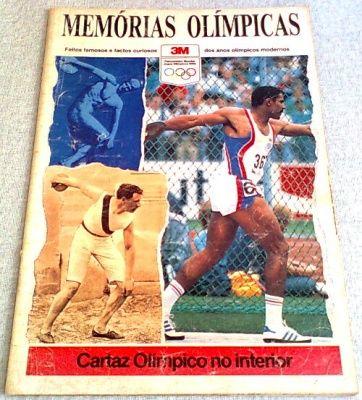"""Revista """"Memórias Olímpicas"""""""