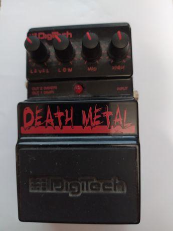 Digitech Death Metal педаль, примочка
