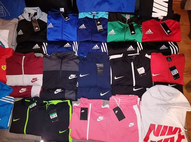 Adidas Nike dresy koszulki