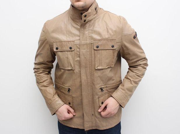 Оригинальная кожаная куртка кожанка Strellson (belstaff, diesel)