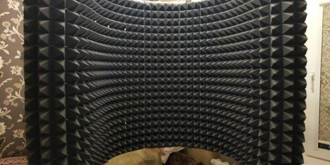 Звукопоглощающая панель стенка для студии