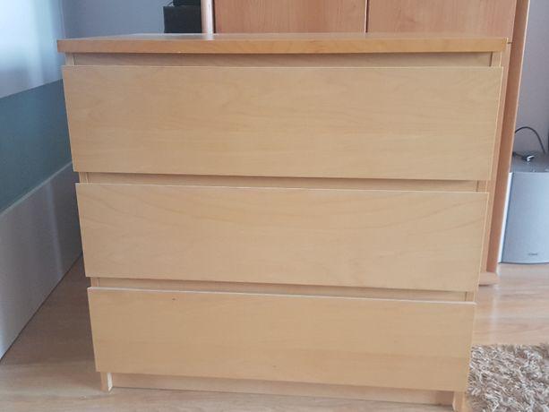 Komoda Malm Ikea 3 szuflady