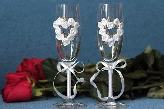 Эксклюзивные свадебные бокалы