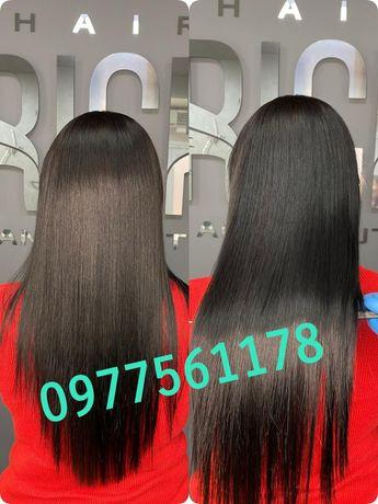 Кератиновое выпрямление волос / Ботокс
