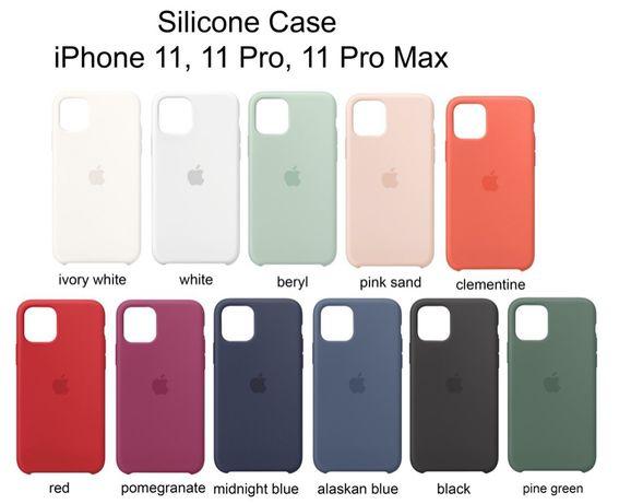 Apple Silicone Case do Iphone 11/11Pro/11 Pro Max , Wysyłka , SKLEP