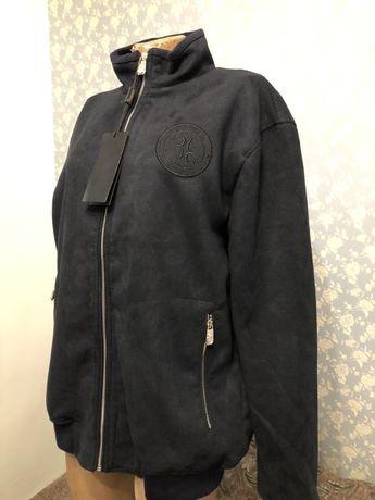 Billionaire мужская куртка,чоловіча куртка из перфорированной замши