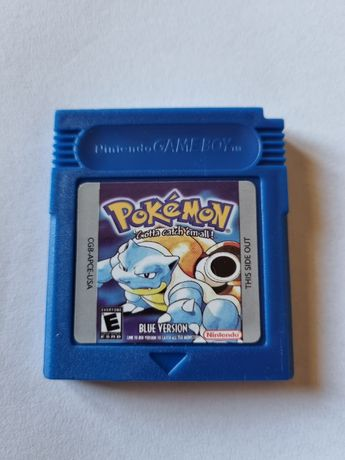 Jogo pokemon blue GBA - Gameboy - Game boy