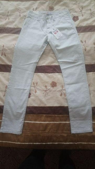 Spodnie wiosenne jasne 170 /174 na 15-17 lat
