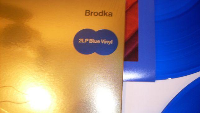 """Monika BRODKA """"Unplugged' 2 lp blue winyl folia"""