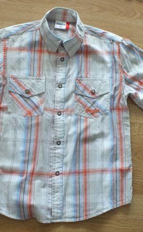 koszula krótki rękaw 128