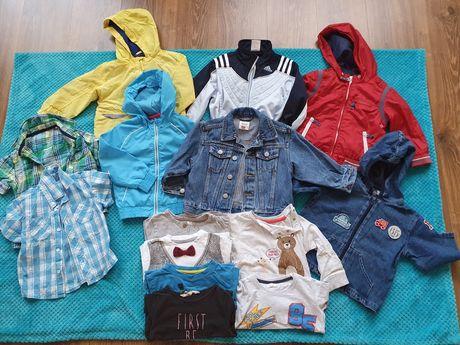 Mega paka paczka ubrań dla chłopca 86, 86/92 body, wiosenna 98 szt
