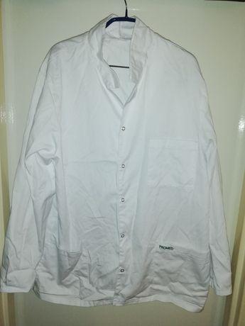 Fartuch biały męski bluza