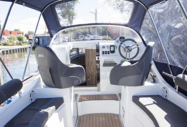 Jacht, łódź motorowa bez patentu - Gdańsk, ogrzewanie, WC