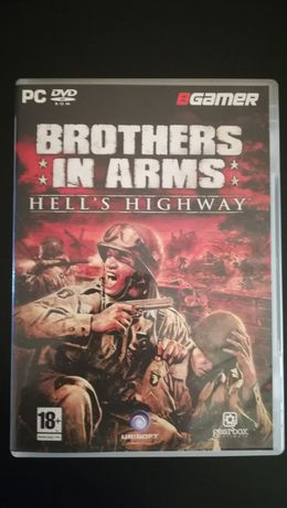 """Jogo PC - """"Brothers in Arms - Hell`s Highway"""" (Como Novo)"""