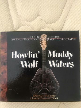 CD Duplo Howlin Wolf & Muddy Waters Deluxe Edition