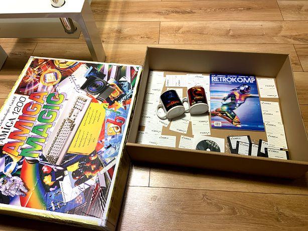 Karton do Amigi Kubki Mortal Kombat Dyskietki Opakowanie Amiga 1200