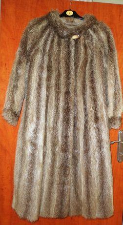 płaszcz futro pod pacha 120