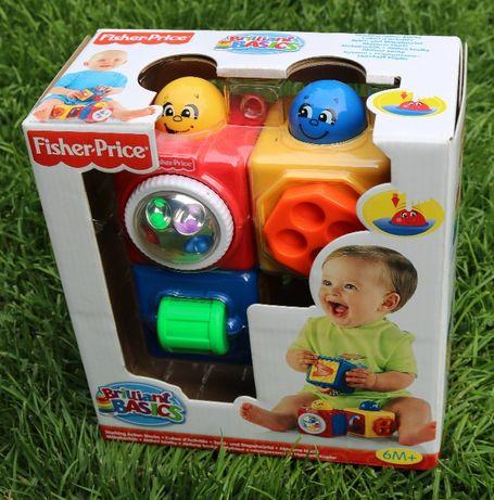 Fisher-Price, Aktywne klocki, zabawka edukacyjna