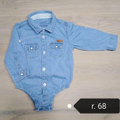 Body jeansowe jeans dżins cool Club 68