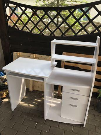 Biurko dziecięce biale