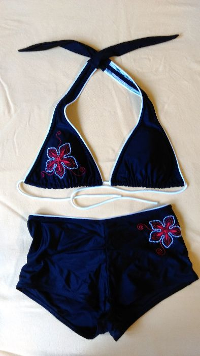 Czarny strój kąpielowy Gać - image 1