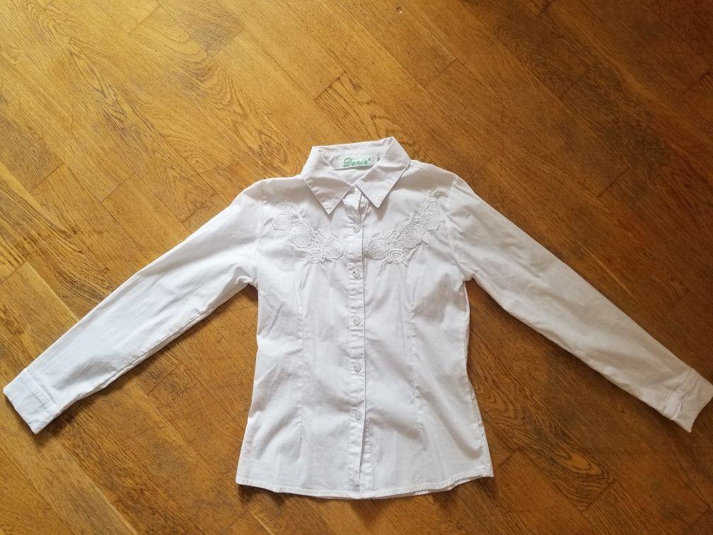 Школьная блузка, размер 140