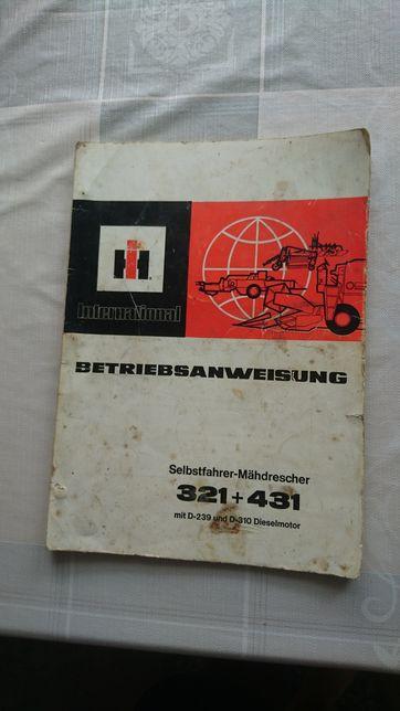Instrukcja obsługi książka international 431, 321