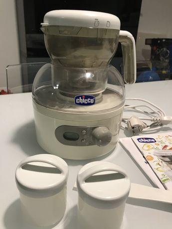 Panela de cozer a vapor - comida de bebé
