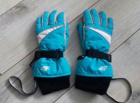 Rękawice narciarskie 4F jak nowe, rozm. 6-6,5