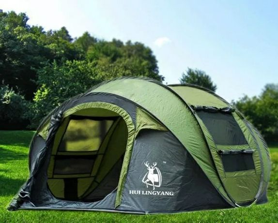 Самораскладывающаяся, автоматическая палатка. Раскладывается за 20 сек