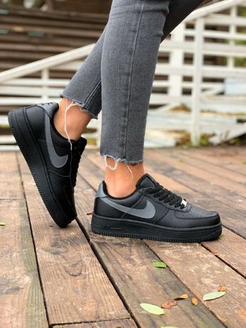 Кроссовки женские Зима ТОП Качество!Найк Nike Air Кеды Ботинки Сапоги