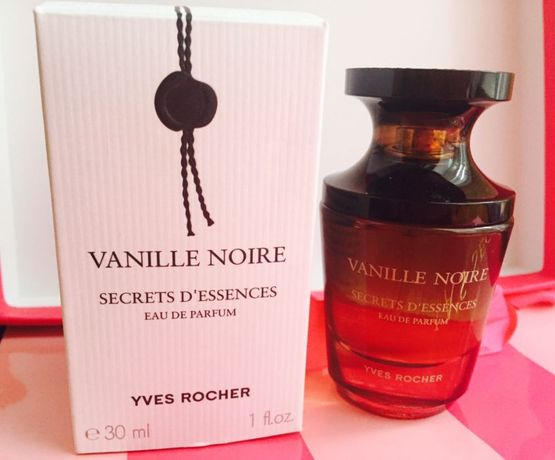 Парфюмерная вода Yves Rocher Vanille noire