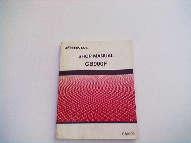 Manual Técnico Oficial Honda Hornet CB 900 F