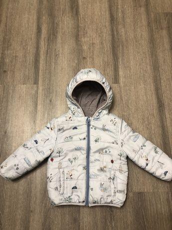 Детская демисезонная курточка возраст 18-24 месяца
