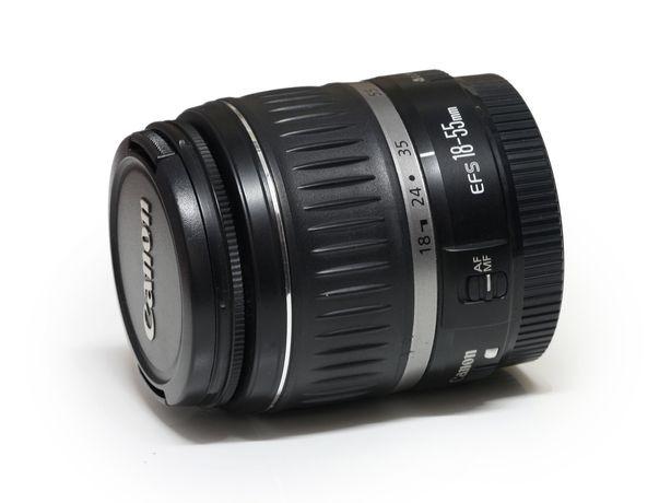 Reparação Canon EF-S 18-55 f/ 3.5-5.6 erro 01