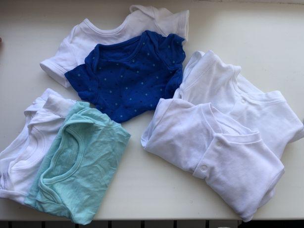Комплект новой одежды для новорожденого в роддом. Боди, человечки