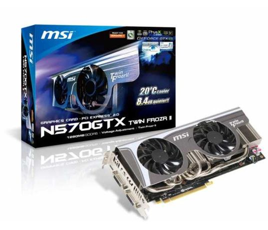 Karta graficzna MSI GeForce GTX 570