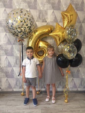 Гелиевые шары Харьков, шарики гелий, воздушные шары доставка недорого