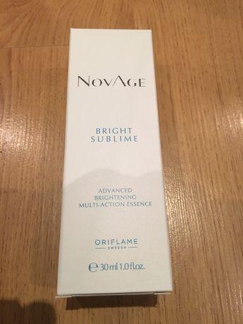 Nowa rozjaśniająca esencja NovAge Bright Sublime 30 ml z Oriflame