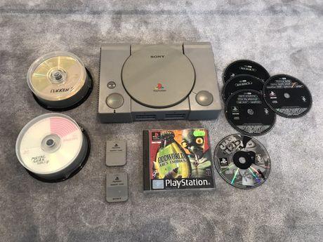 PS1 PlayStation 1 z grami - Mega zestaw!