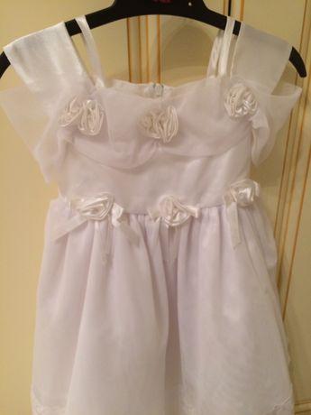 Платье на годик, наряд на 1-2года, праздничное платье.