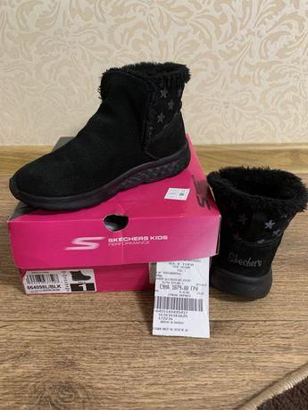 Натуральные ботинки Skechers 32 размер