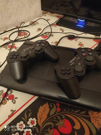 Soni PlayStation 3 Slim, 500gb, прошита