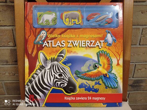 Atlas zwierząt z magnesami