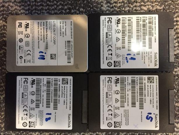 SSD 128/180/240/256Gb Micron, Samsung Sata III